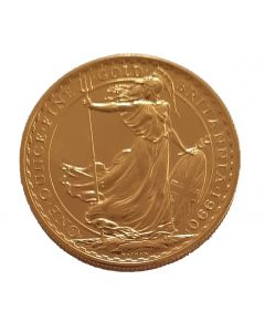 Britannia 1 oz Goldmünze 1990