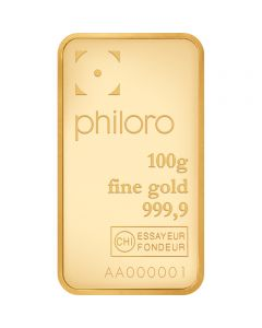 Goldbarren Philoro 100 g