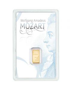 Goldbarren Mozart Philoro 1 g