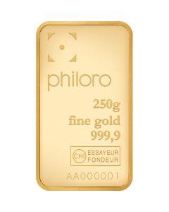 Goldbarren Philoro 250 g