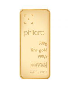 Goldbarren Philoro 500 g