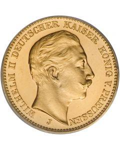 Preußen 20 Mark Wilhlem II Kaiserreich Goldmünze