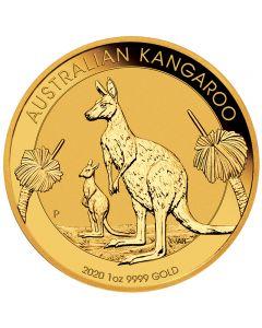 Australien Känguru 1 oz Goldmünze 2020