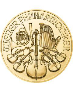 Österreich Wiener Philharmoniker 1/4 oz Goldmünze (verschiedene Jahrgänge)