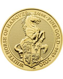 Großbritannien Queen's Beast The White Horse of Hannover 1oz 2020