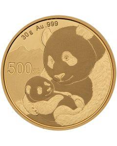 China Panda 30 g Goldmünze 2019
