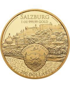 Mozart Goldmünze 1 oz 2017