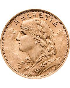 Schweiz 20 Franken Vreneli Goldmünze