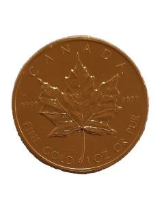 Maple Leaf 1 oz Goldmünze 1988