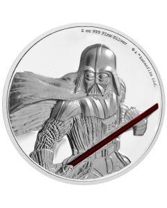 Star Wars Darth Vader 2 oz Silbermünze 2017