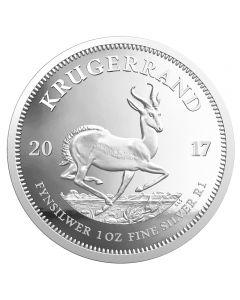 Südafrika Krügerrand 1 oz Silbermünze 2017