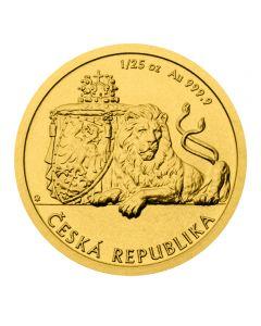 Tschechischer Löwe 1/25 oz Goldmünze 2019