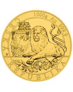Tschechischer Löwe  Goldmünze 1 Kg 2019 Gold