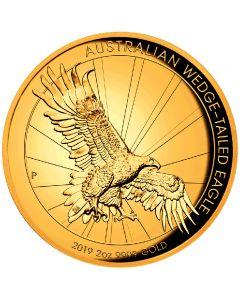Wedge Tailed Eagle 2 oz Goldmünze 2019