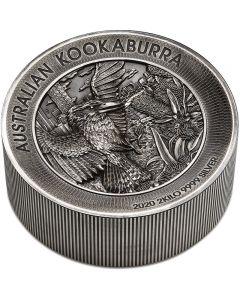 Australien Kookaburra 2 kg Silbermünze 2020