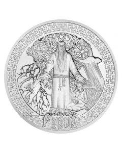 Alte Götter - Perun 5 oz Silbermünze 2020