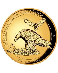 Australien Wedge-Tailed Eagle 1 oz Goldmünze 2018