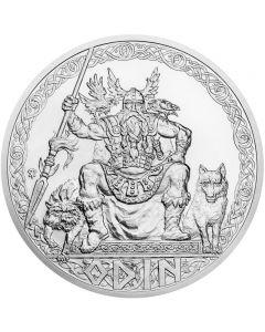 Alte Götter Odin 5 oz Silbermünze 2020