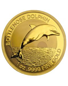 Australien  Bottlenose Dolphin 1 oz Goldmünze 2019