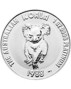 Australien Koala 1 oz Platinmünze