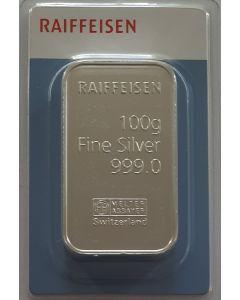 100 g Silberbarren Raiffeisen