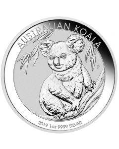 Australia Koala 1 oz  Silbermünze 2019
