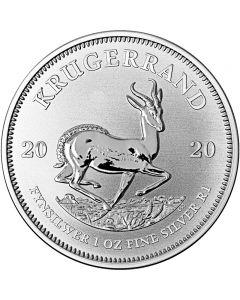Südafrikanische Krügerrand 1 oz Silbermünze 2020
