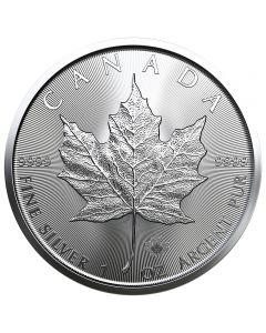 Canadian Maple Leaf  1 oz Silbermünze 2019