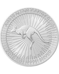 Australien Kängeruh od. Kangaroo 1 oz Silbermünze 2020
